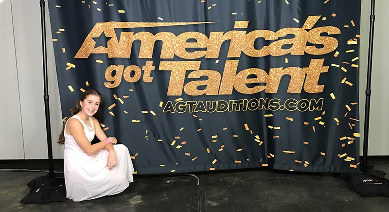 Young Opera Student with Scoliosis Auditions for 'America's Got Talent'