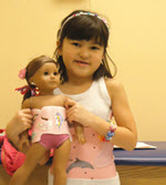 Boston Orthotics & Prosthetics Creates Matching Brace for American Girl Doll