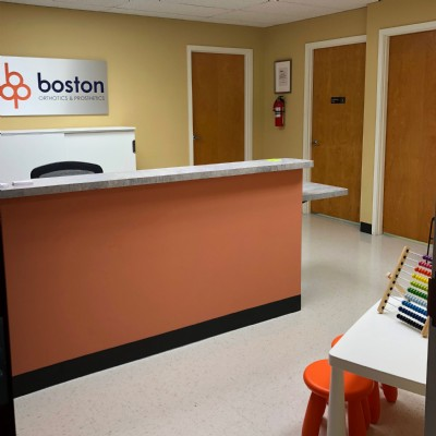 Front desk / reception area at our clinic.